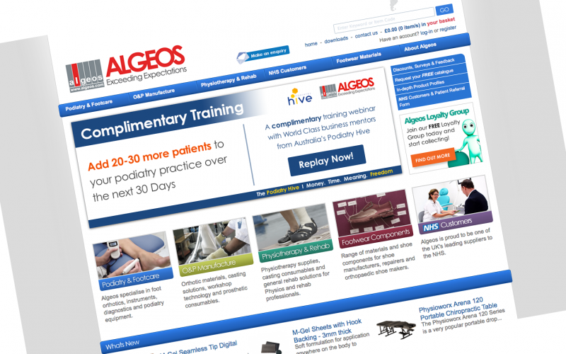 Algeos to provide NHS physios with free CPD-accredited training