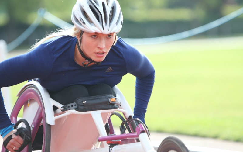 Ottobock ambassador and wheelchair racer Sammi Kinghorn has been selected to represent GB in Rio