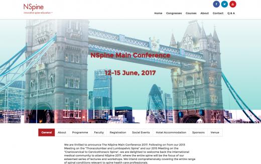 12–15 June 2017 – NSpine 2017; London