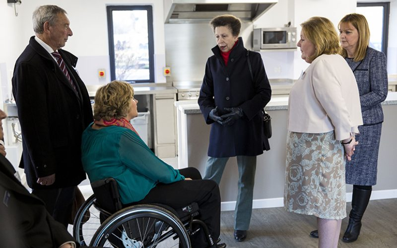 HRH The Princess Royal officially opens Livability's Spinal Injury Centre