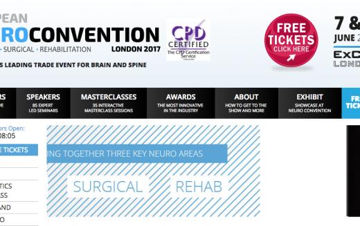 7–8 June 2017, European Neuro Convention, London