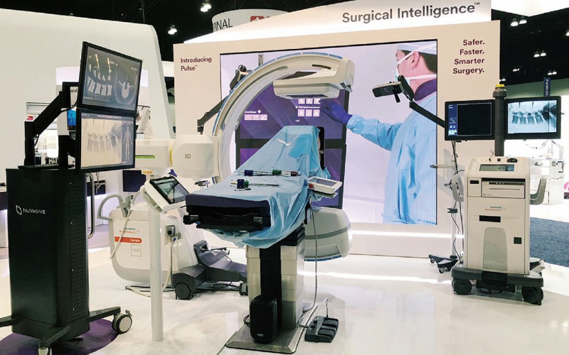 New spine technology trends featured at NASS 2018