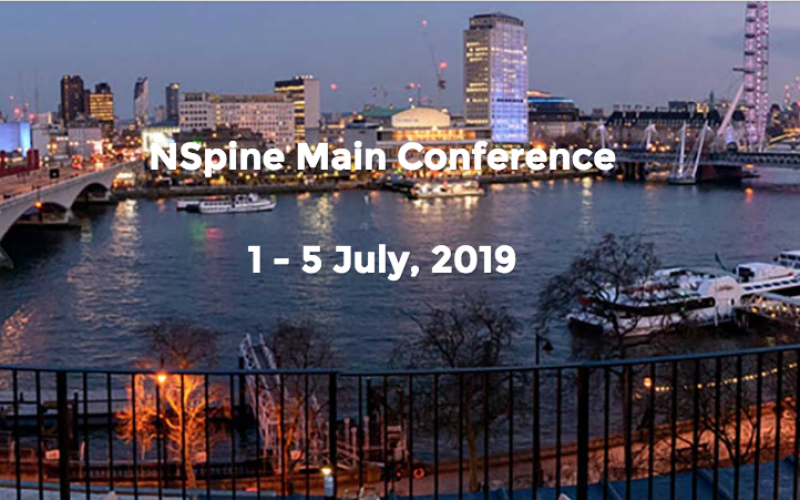 1-5 July 2019, NSpine; London