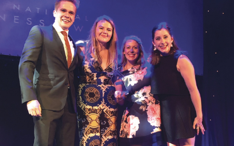 Neurokinex Gatwick wins national fitness award