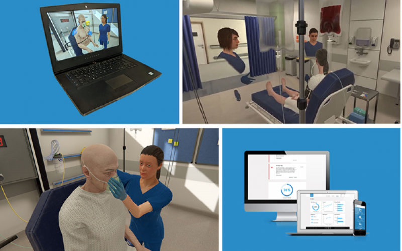 17,000 doctors and nurses training during COVID-19 using virtual simulation technology