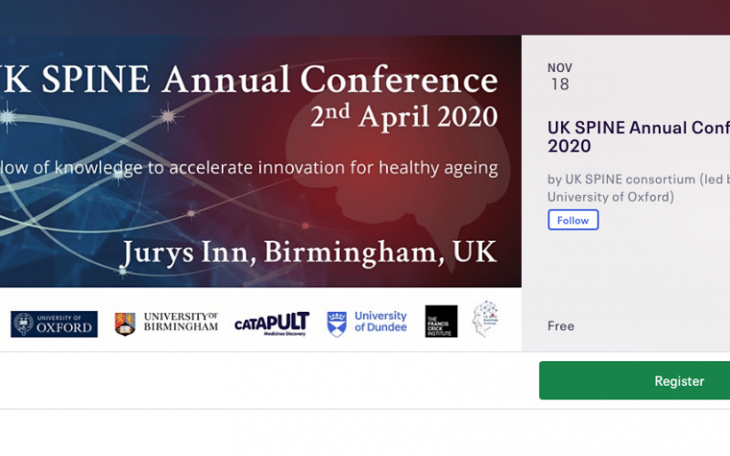 18 November 2020, UK Spine Annual Conference 2020; Birmingham