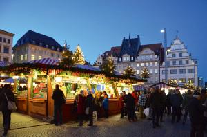 Leipzig Weihnachtsmarkt - Market
