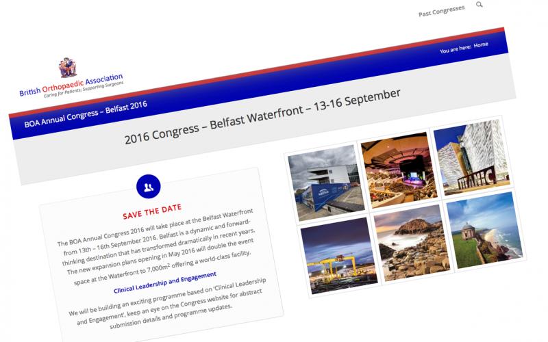 13-16 September 2016 BOA annual congress