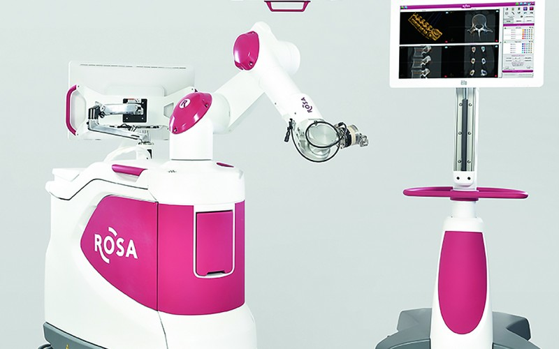 Medtech receives FDA clearance for ROSA Spine robot