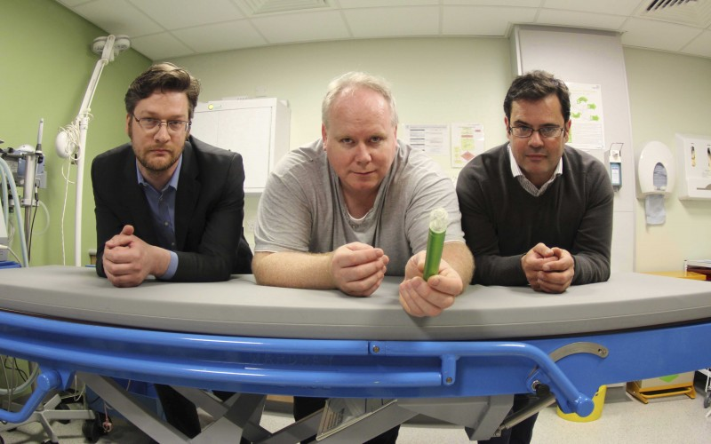 Robotic keyhole surgery nears reality thanks to an inventor, a surgeon and a patent attorney