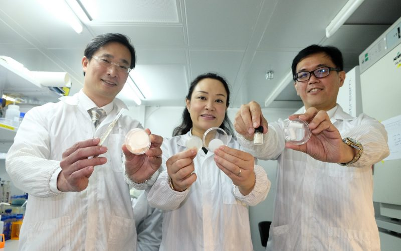 Scientists develop patch which could improve healing and reduce scarring