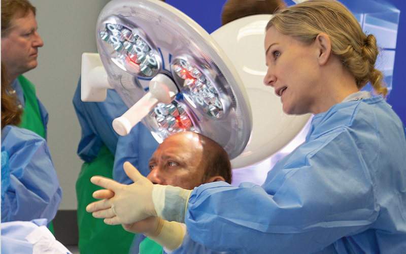 Spinal surgery and the use of cadavers in training
