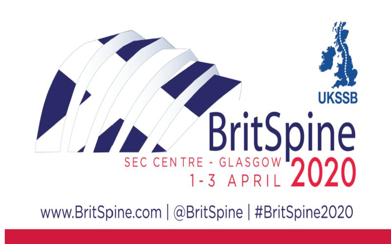 BritSpine 2020 – postponed