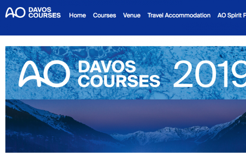 1-11 December 2019, AO Foundation Davos Course 2019; Switzerland