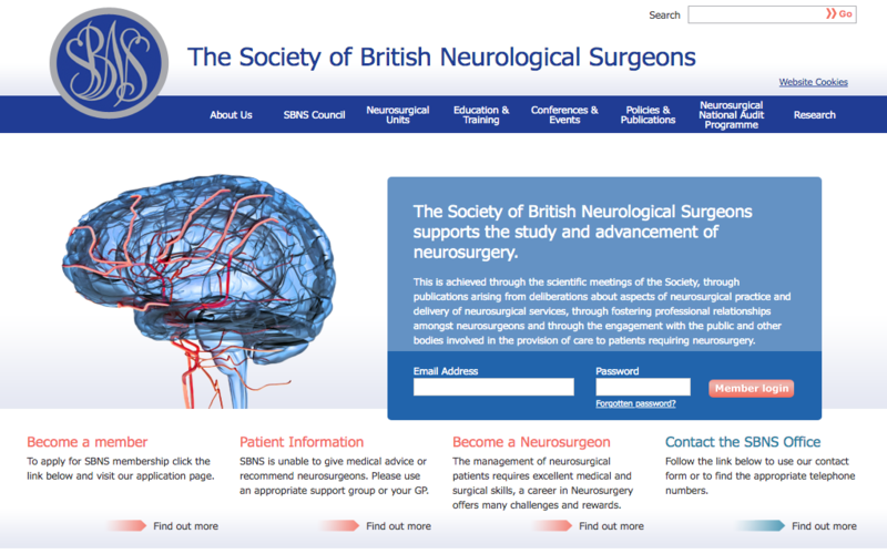 25-27 March 2020, The Society of British Neurological Surgeons Spring Meeting; Dundee – POSTPONED