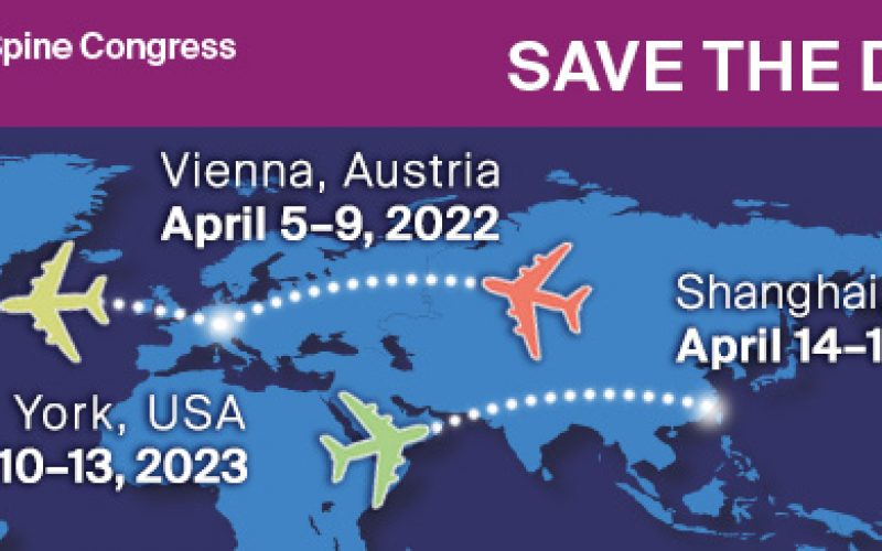 Congress is a platform for surgeons to exchange knowledge and share experiences in spine care