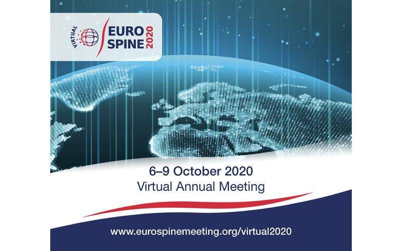 6-9 October 2020, EUROSPINE Virtual Meeting; Online worldwide