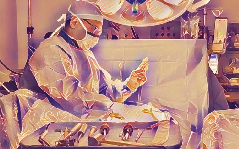 Surgeon in focus – Alok Sharan