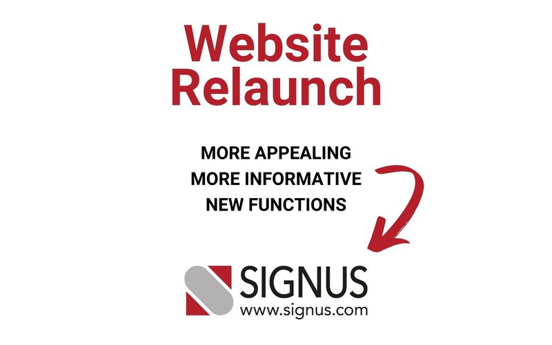 More appealing, more informative and with new functions: the revised SIGNUS website is online