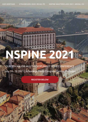 14-16 July 2021, NSpine Conference; Portugal