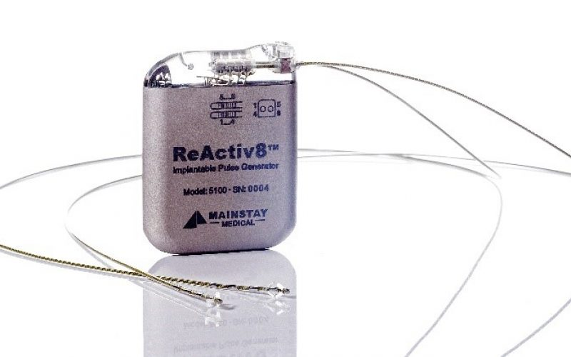 Mainstay Medical announces commercial launch of ReActiv8 in Australia